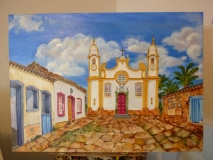 Tiradentes, Oil on Canvas, 30 x 40 cm, 2011